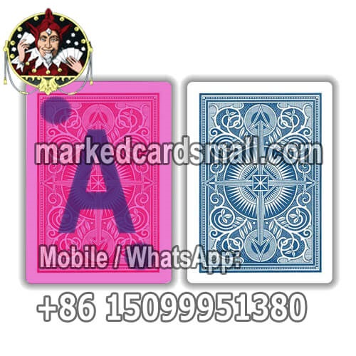 marked deck of cards